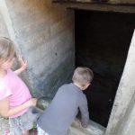 Blick in einen der Bunker