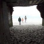 Blick aus dem Bunker